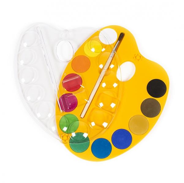 Finger, water & tempera colours (prstové barvy, vodovky a tempery)