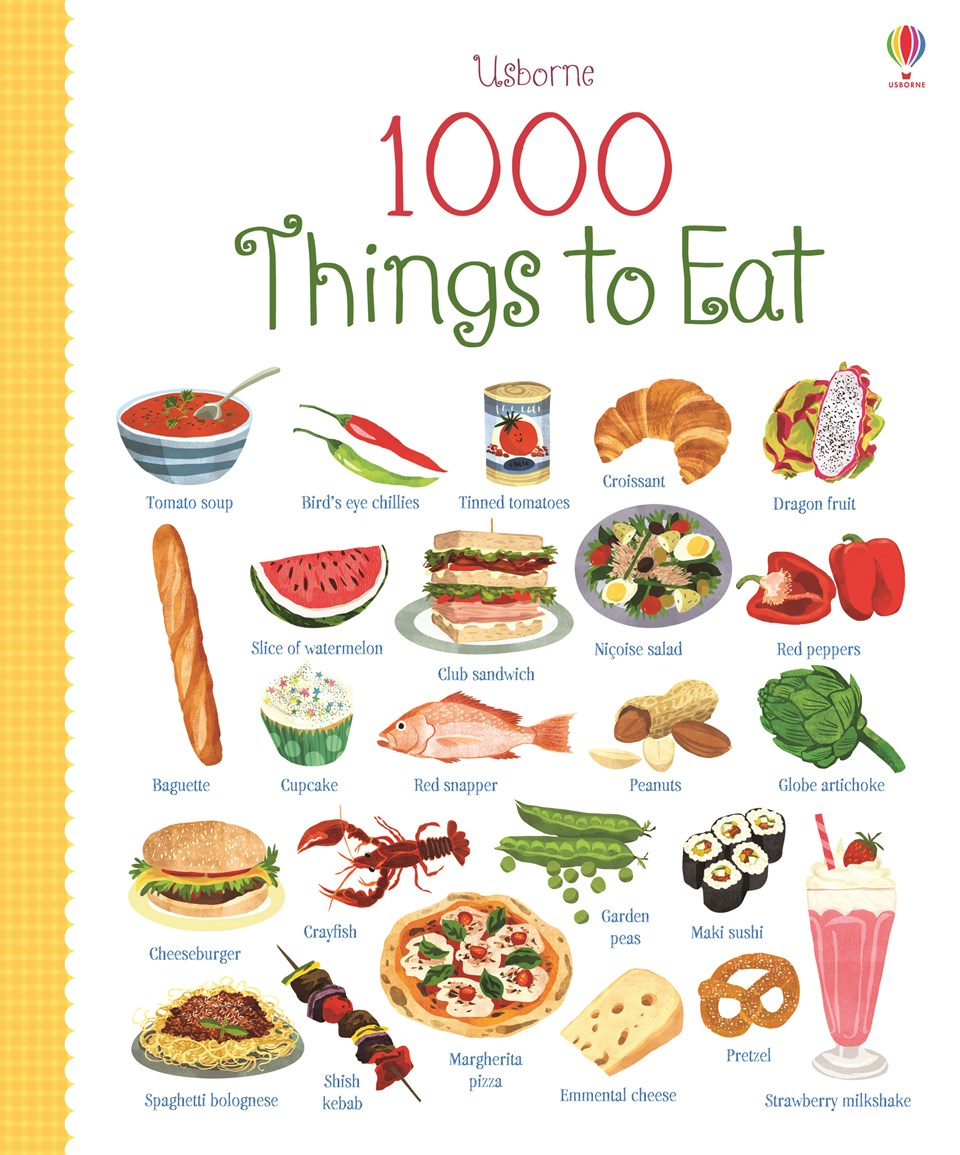 1000 Things to eat 1