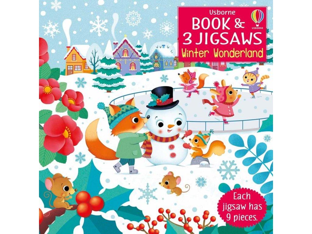 Book and jigsaw Winter Wonderland