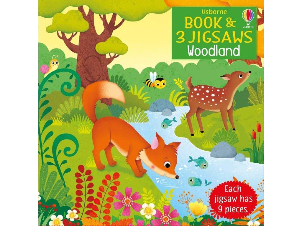 Book and jigsaw Woodland