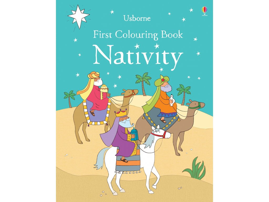 First Colouring Book Nativity 1