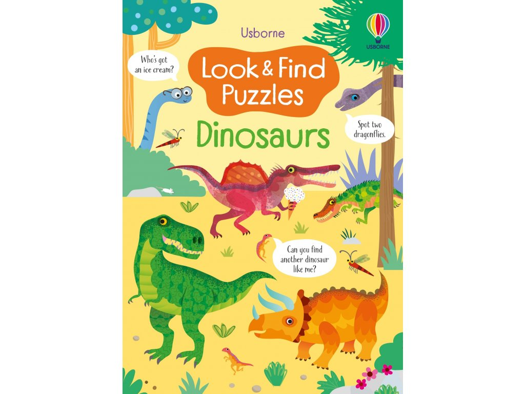 Look and Find Puzzles Dinosaurs 1