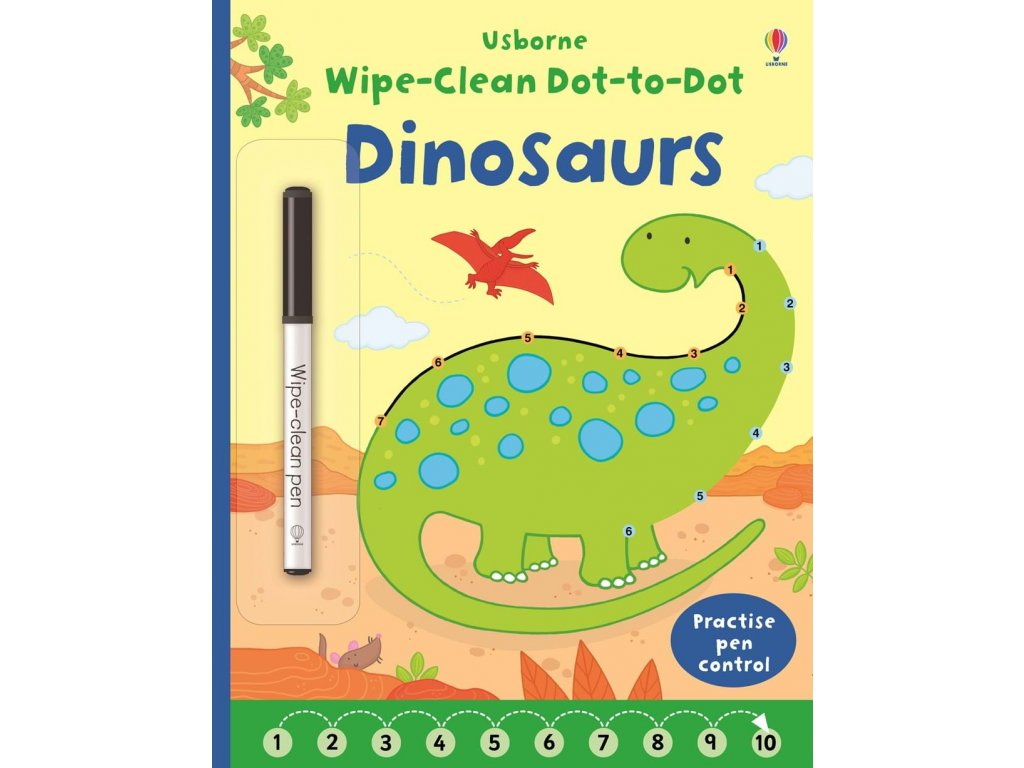 Wipe clean Dot to dot Dinosaurs 1