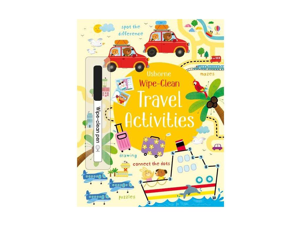 Wipe Clean Travel Activities