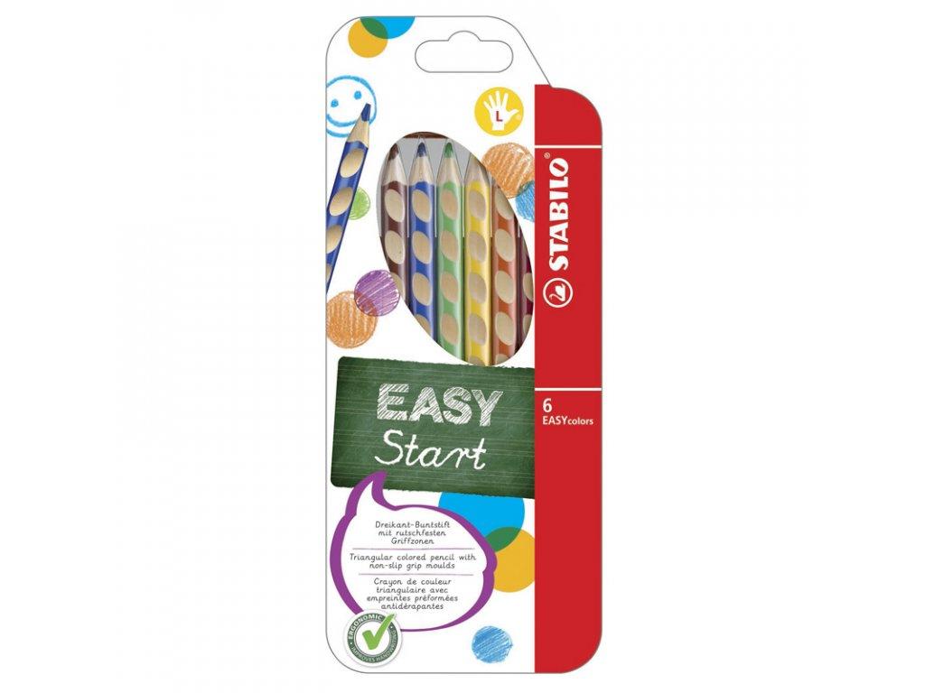 Stabilo Easy Colors 6 barev L 1