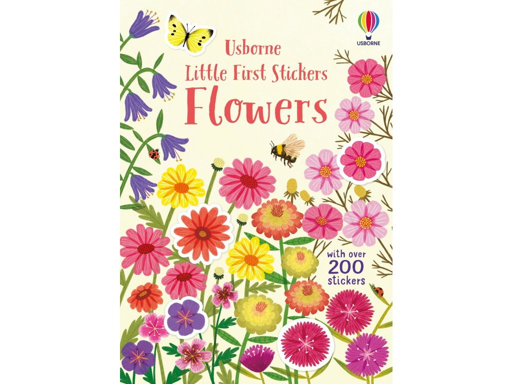 Little First Stickers Flowers 1