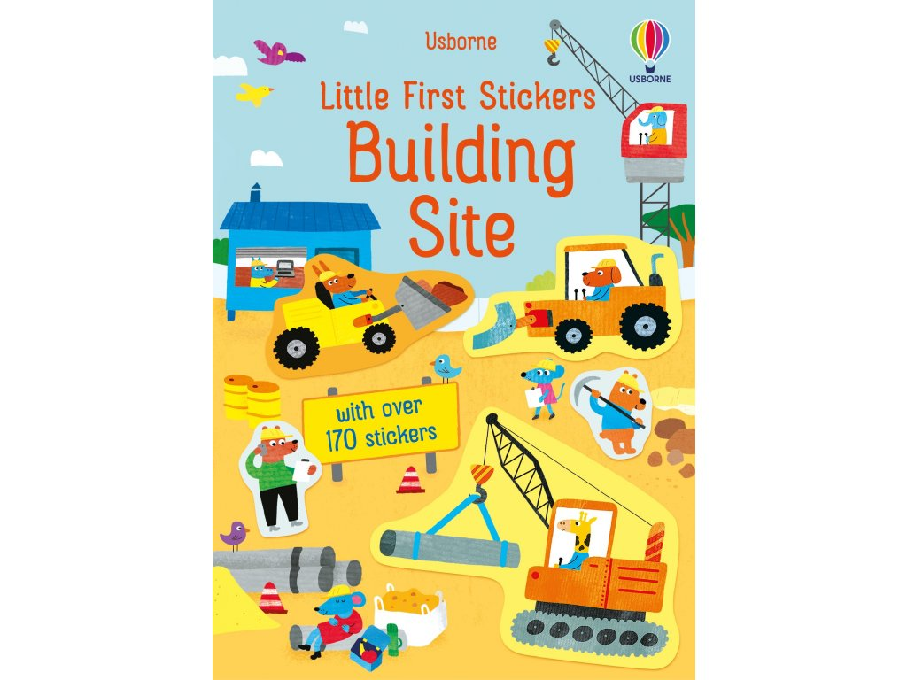 Little First Stickers Building Site 1