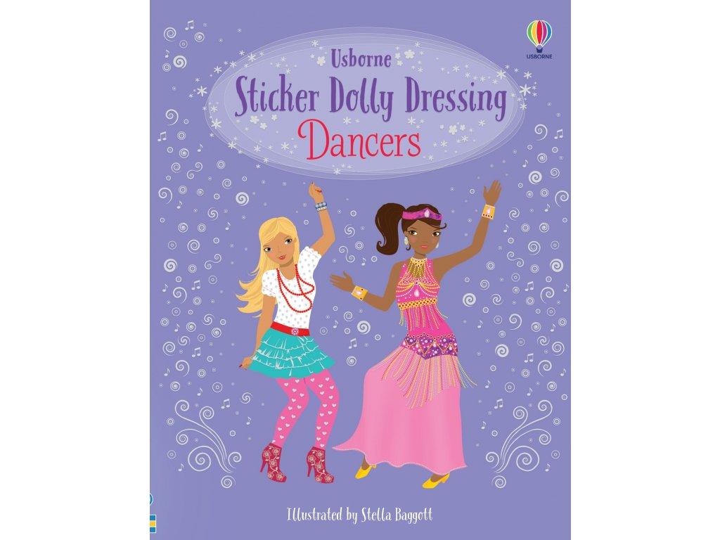 Sticker Dolly Dressing Dancers 1