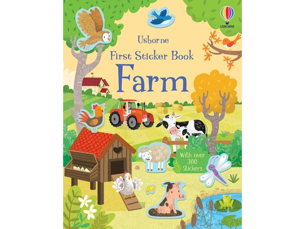 First Sticker Book Farm 1