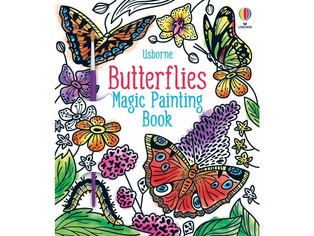 Butterflies Magic Painting Book 1