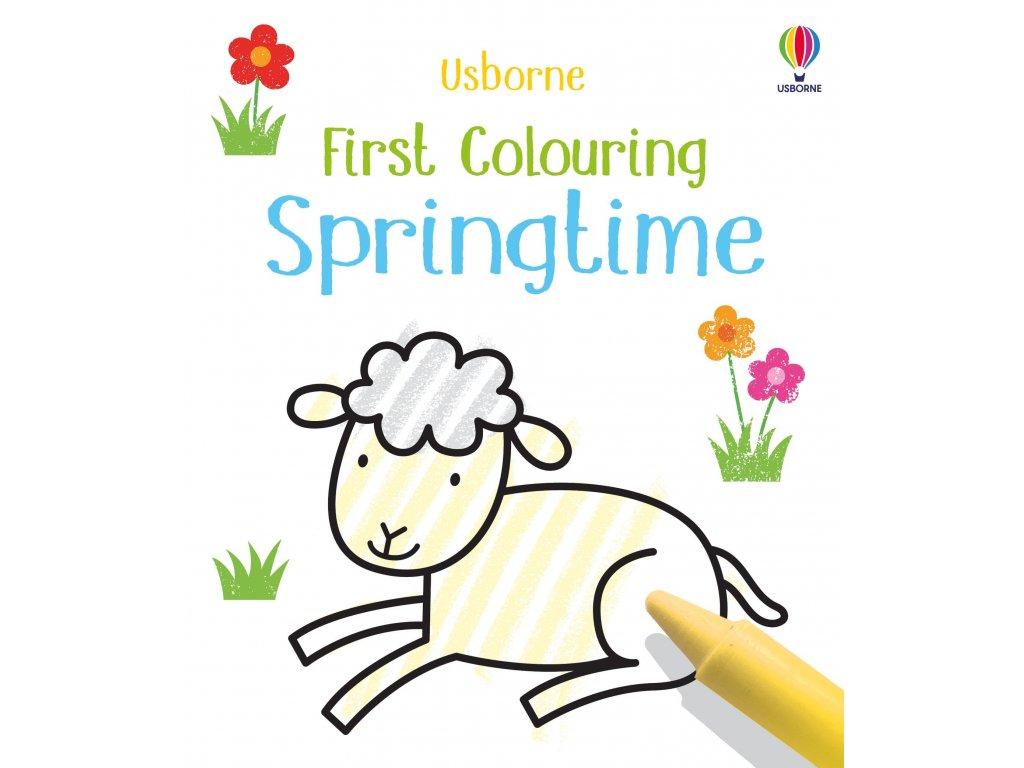 First Colouring Springtime 1