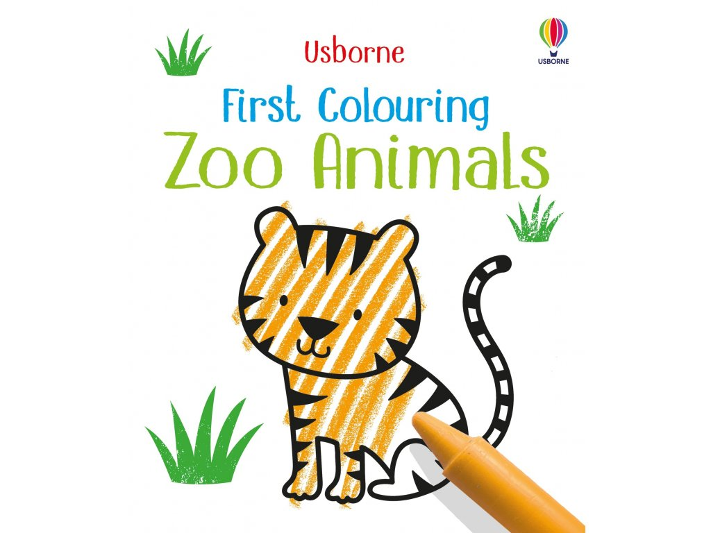First Colouring Zoo Animals 1