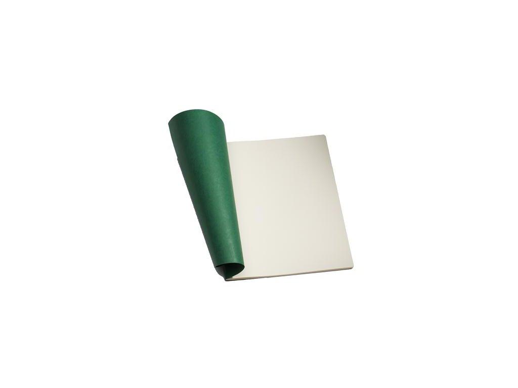 Sešit 24x32cm skicák, zelený 1