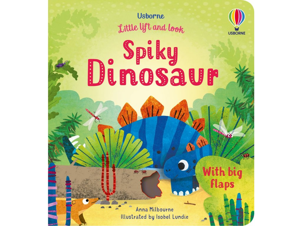 Little Lift and Look Spiky Dinosaur 1