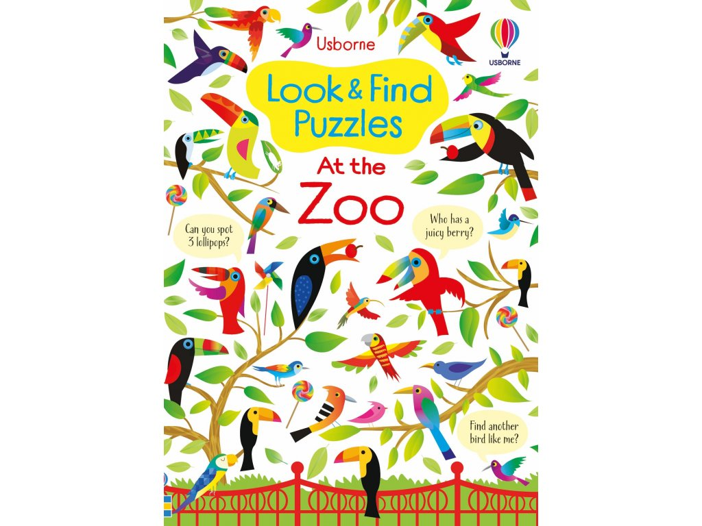 Look and Find Puzzles At the Zoo 1