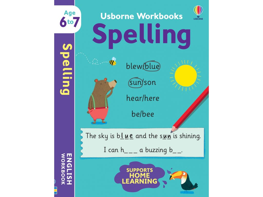 Usborne Workbooks Spelling 6 7 1