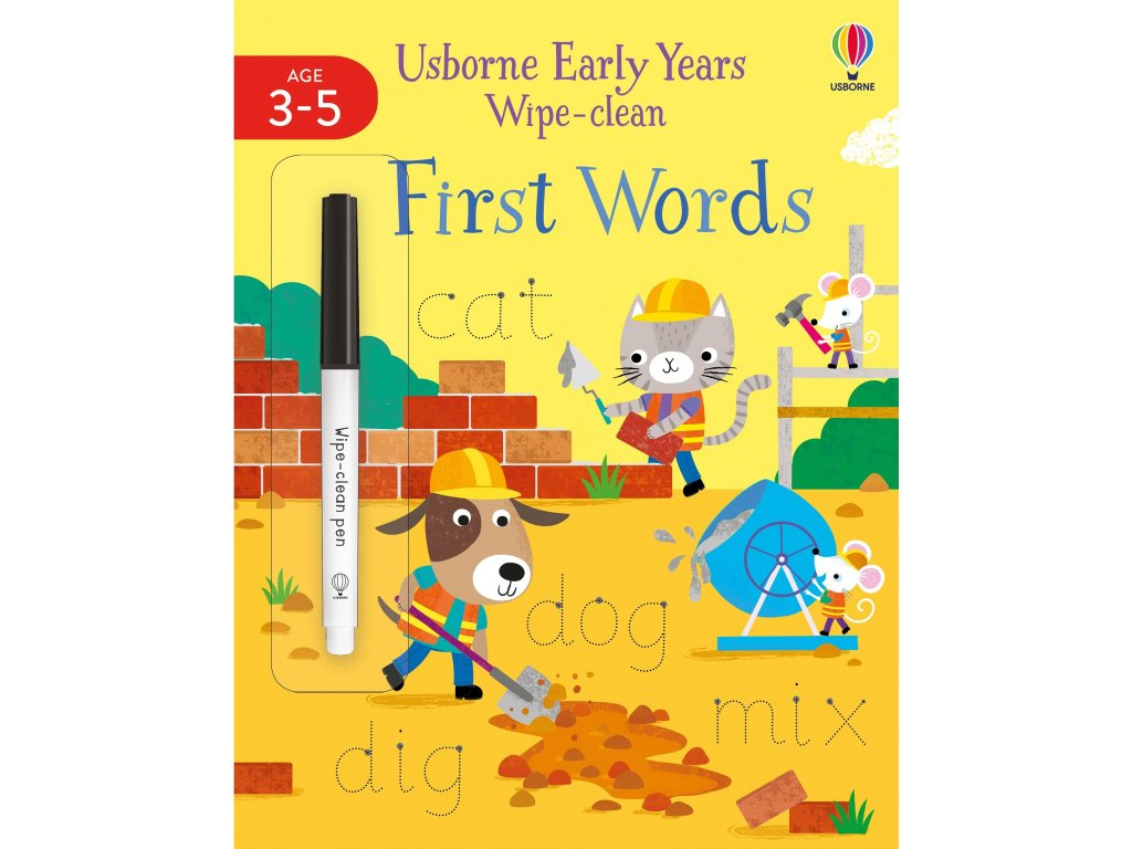 Early Years Wipe Clean First Words 1