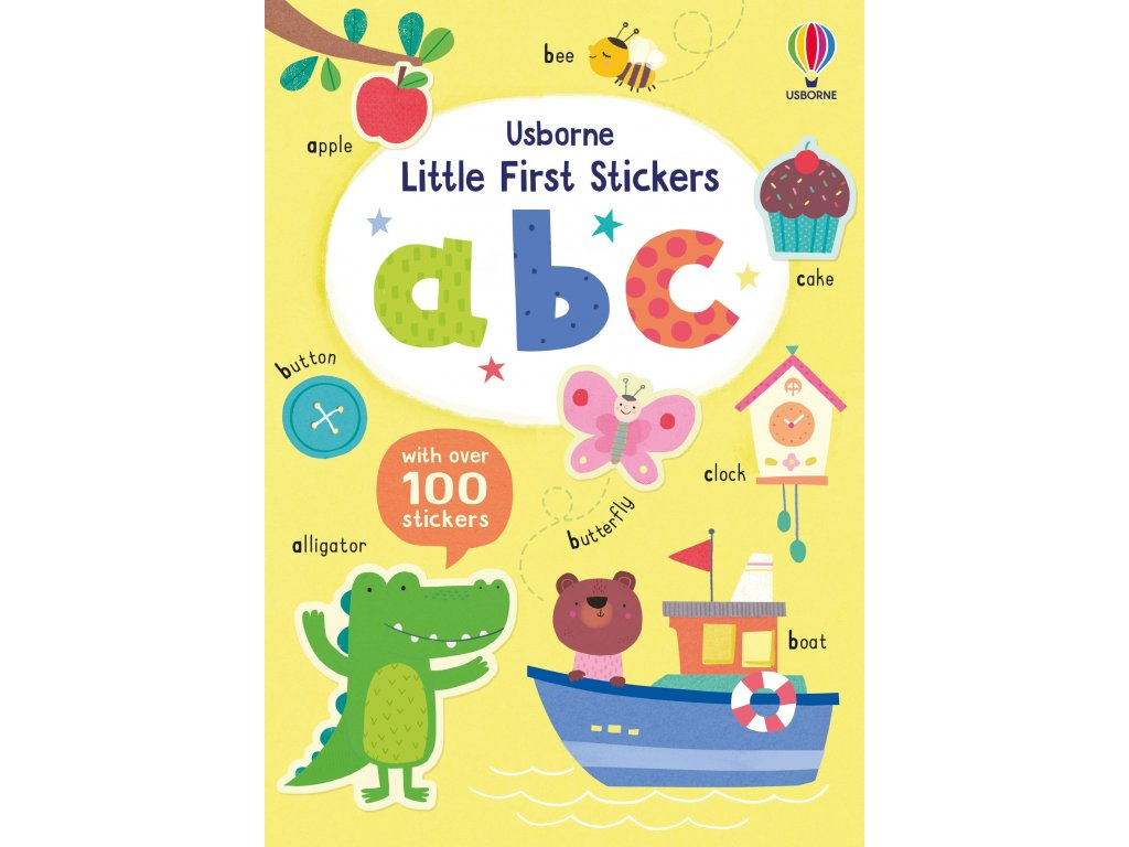Little First Stickers ABC 1