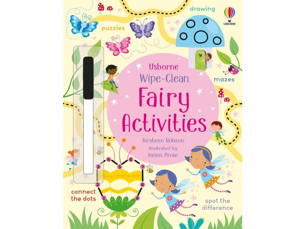 Wipe Clean Fairy Activities 1
