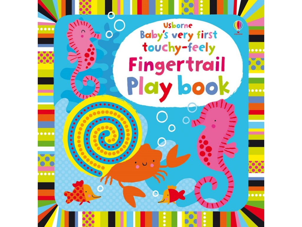 Baby´s very first touchy feely Fingertrail Play book 1