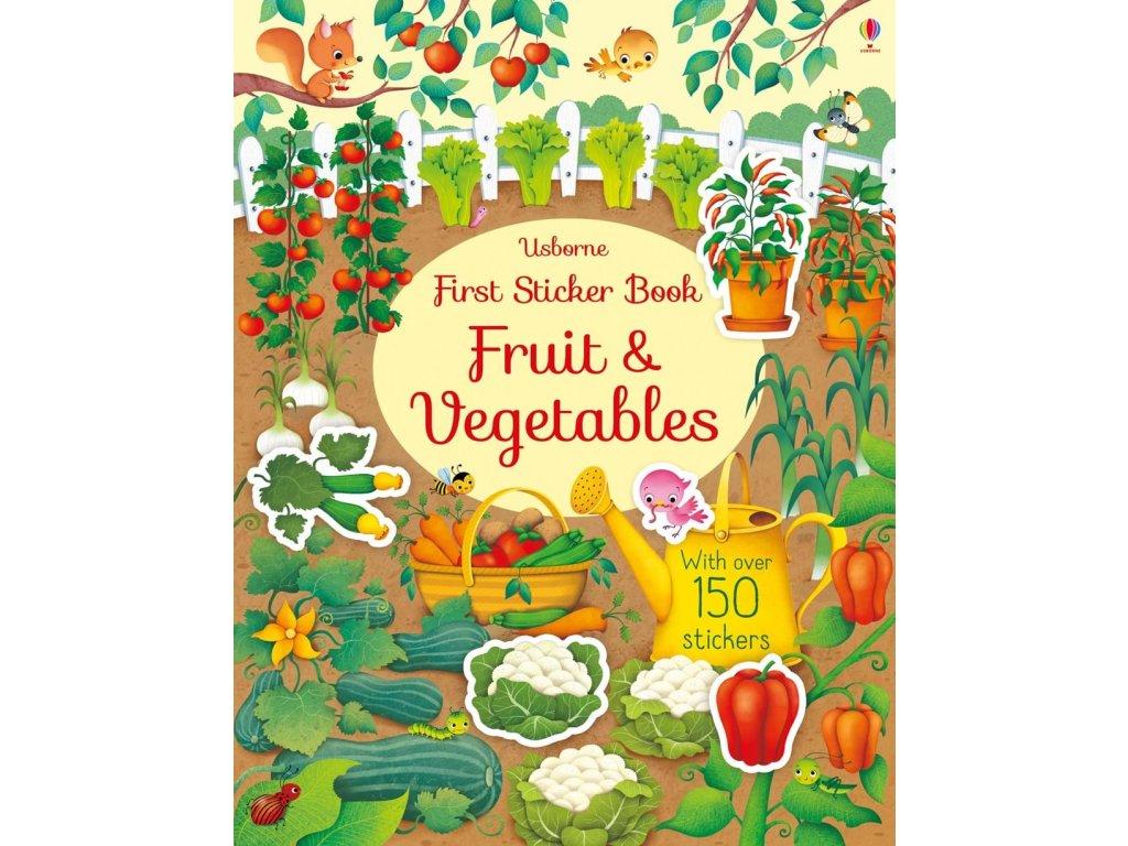 First Sticker Book Fruit & Vegetables