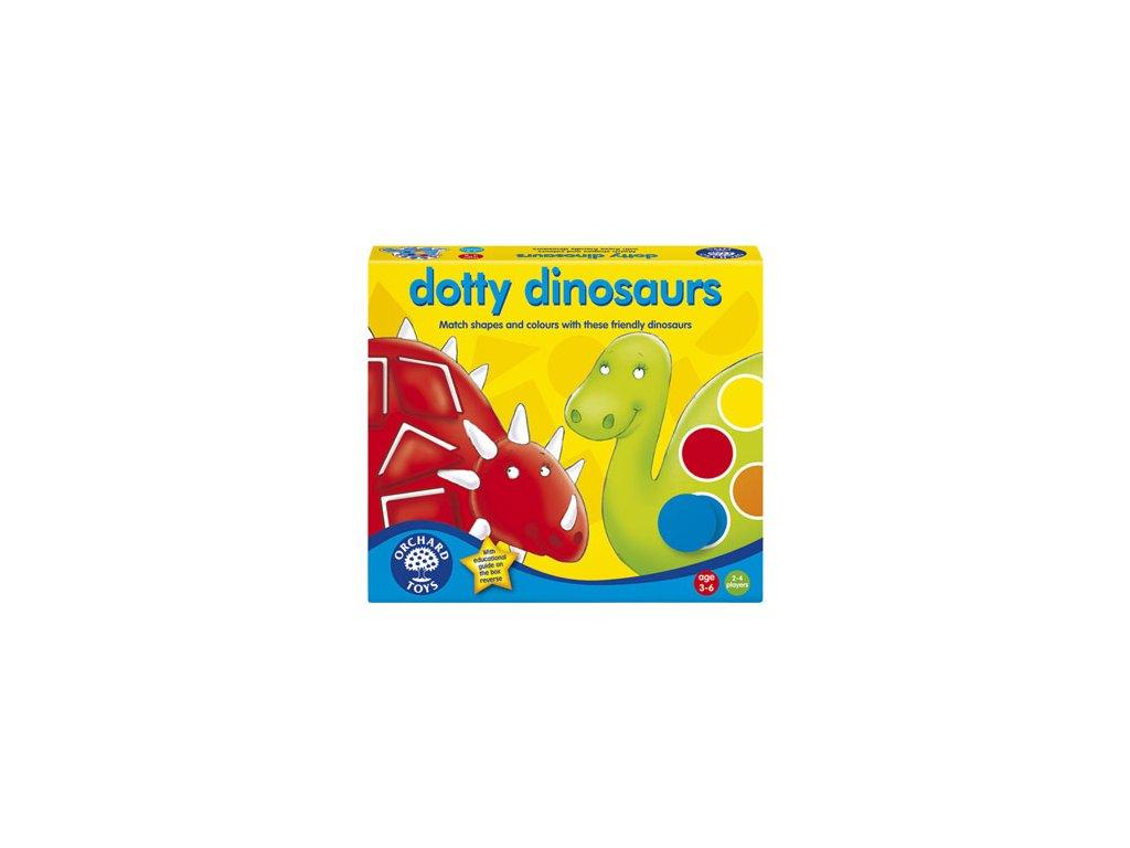Barevný dinosaurus 1