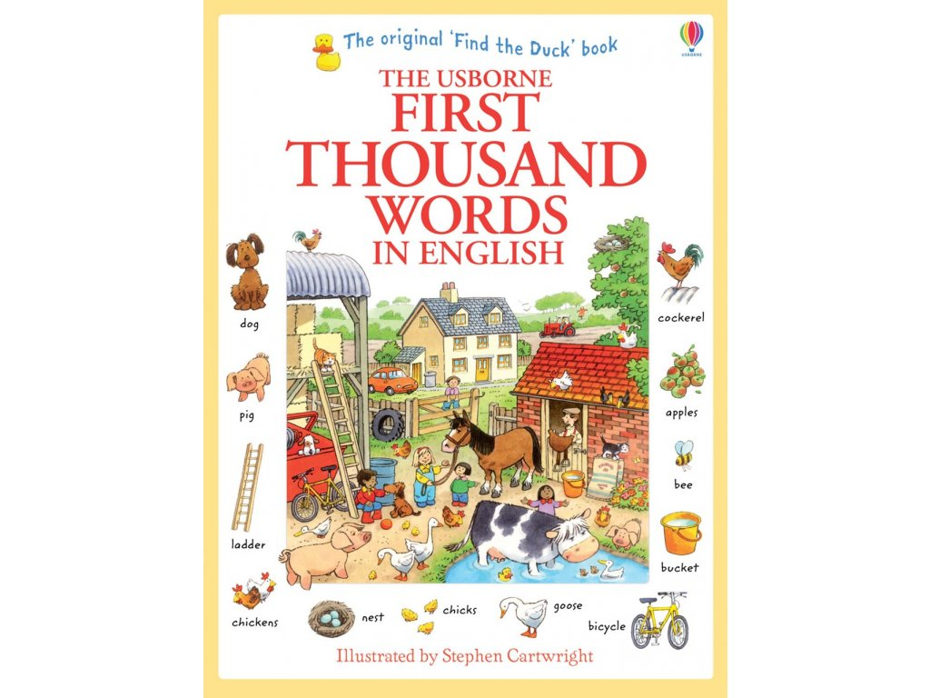 First thousand words in english 1