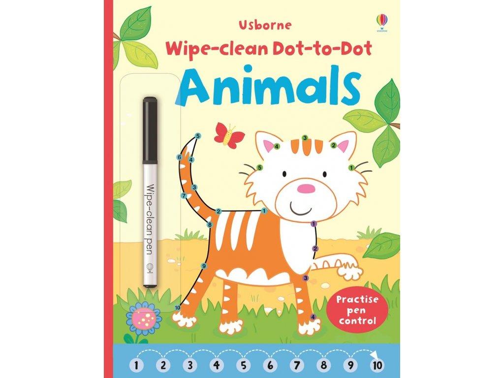 Wipe clean dot to dot animals 1