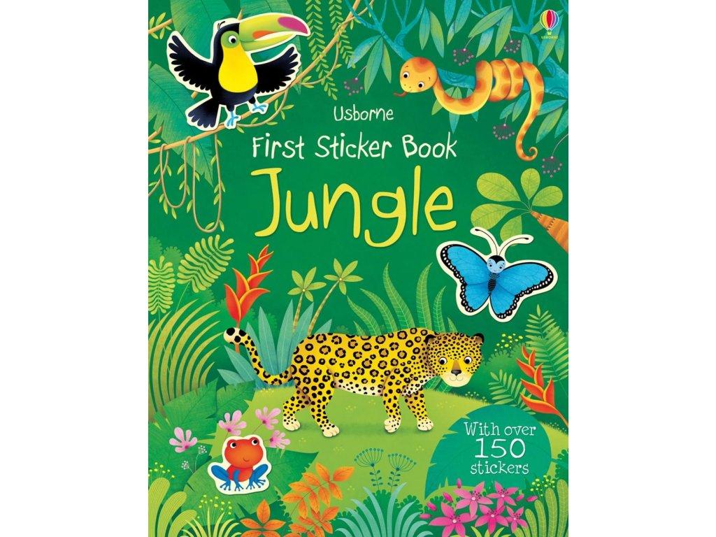 First Sticker Book Jungle 1