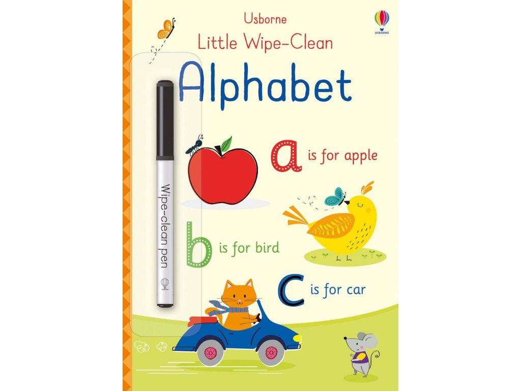 Little wipe clean alphabet