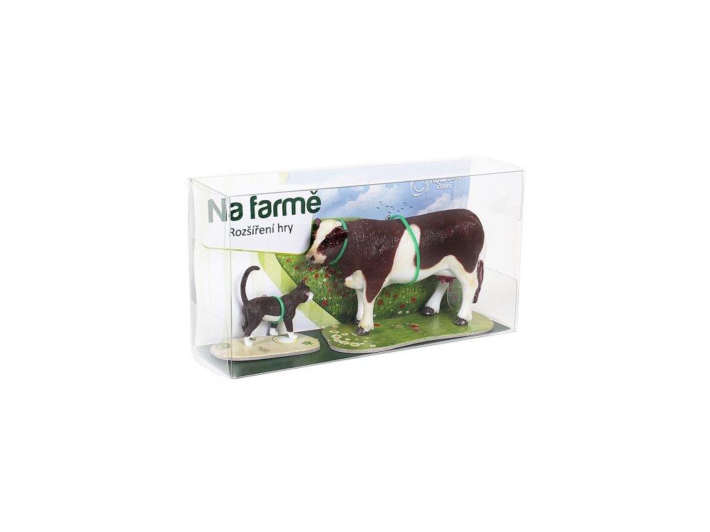 Hra Na farmě kráva a kočka 1