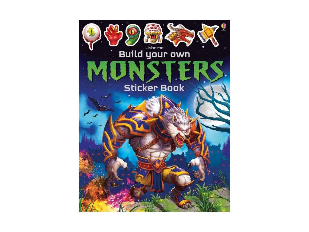 BYO Monsters Sticker Book