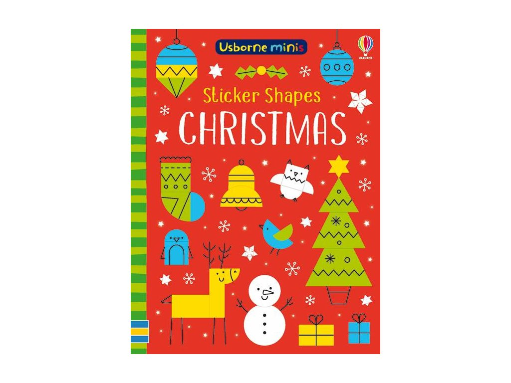 Sticker Shapes Christmas