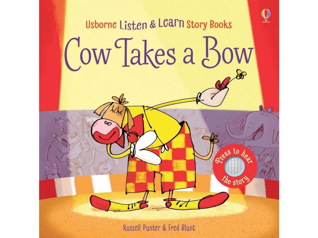 Cow takes a bow