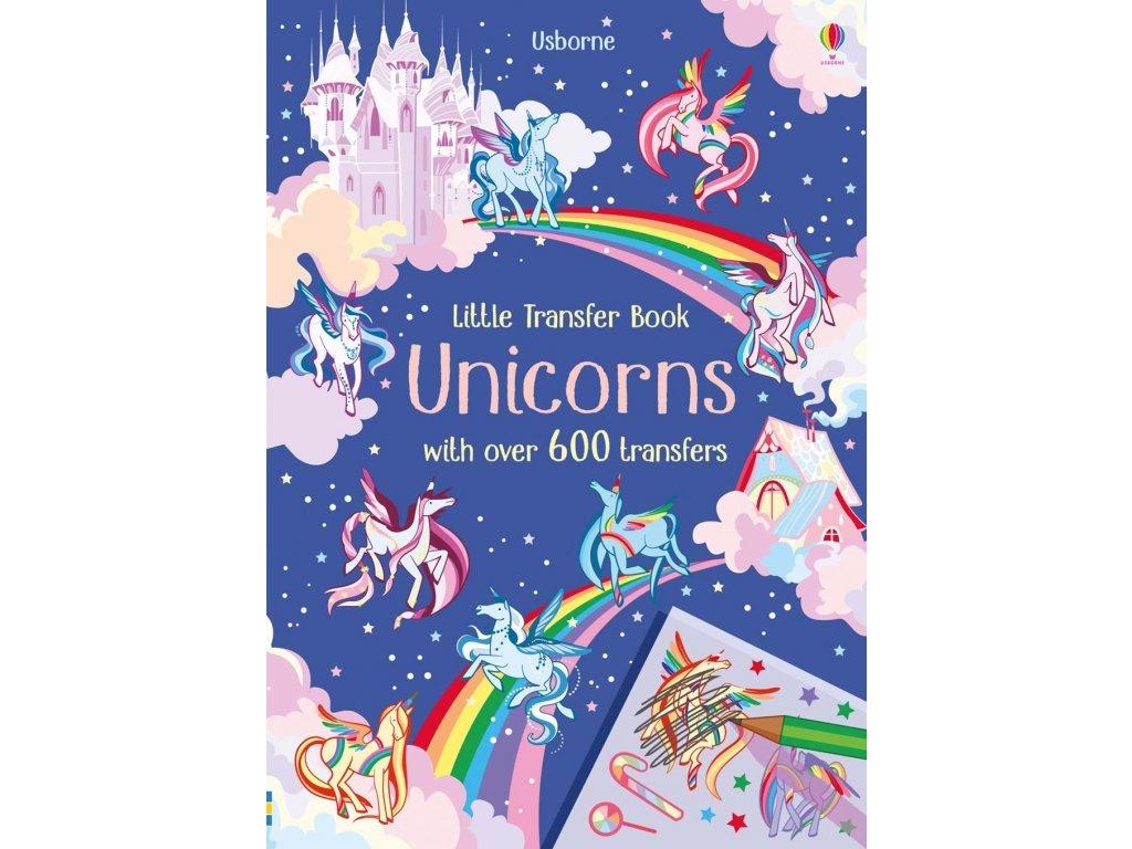 Little transfer books Unicorns