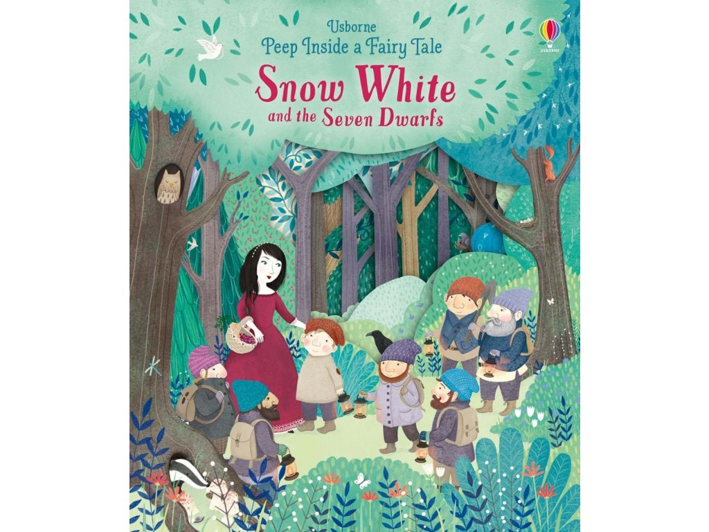 Peep inside a fairy tale Snow White and the Seven Dwarfs