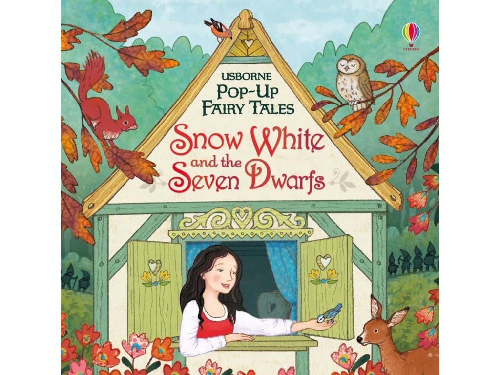 Pop up Snow White and the Seven Dwarfs