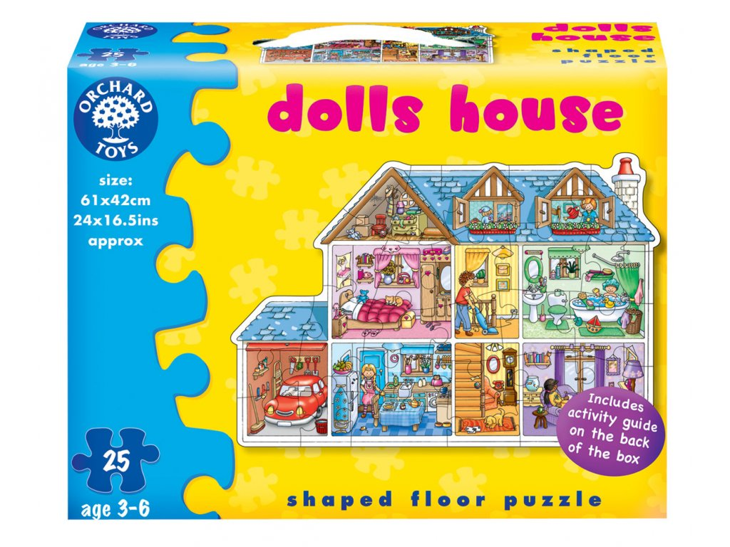 Puzzle Domeček 25 dílků 1
