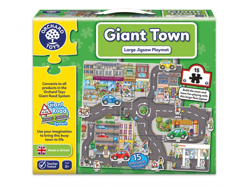 Puzzle Silnice město 15 dílků 1