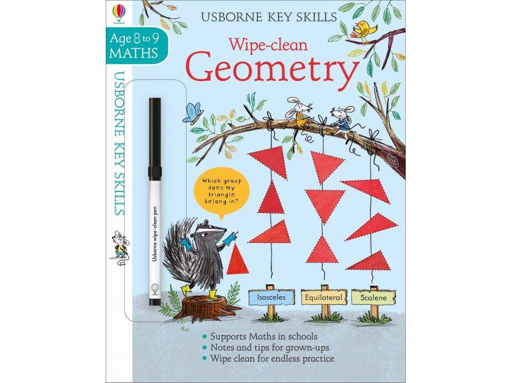 Wipe clean geometry 8 9