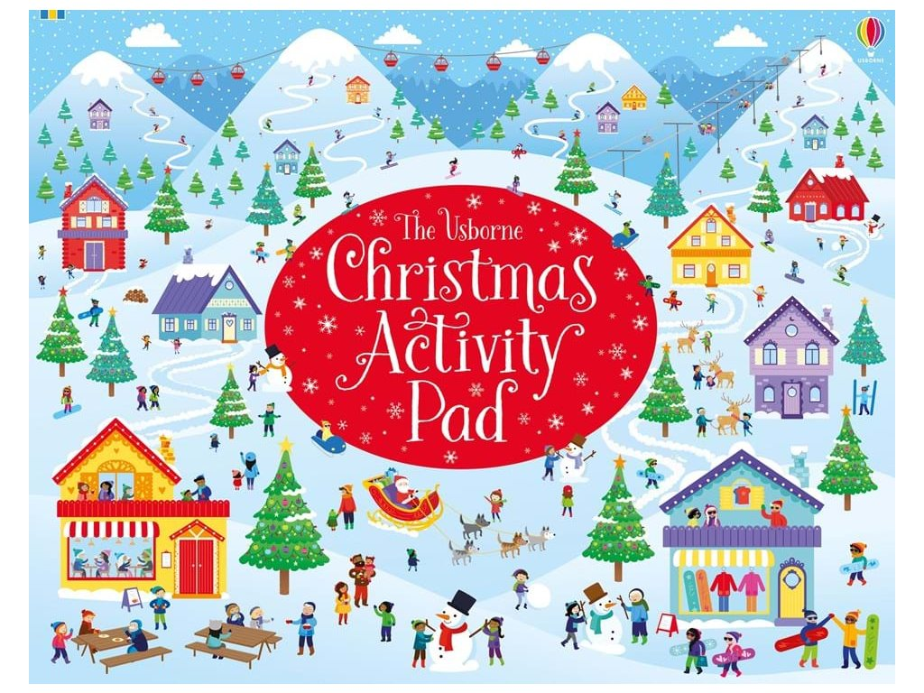Christmas activity pad 1