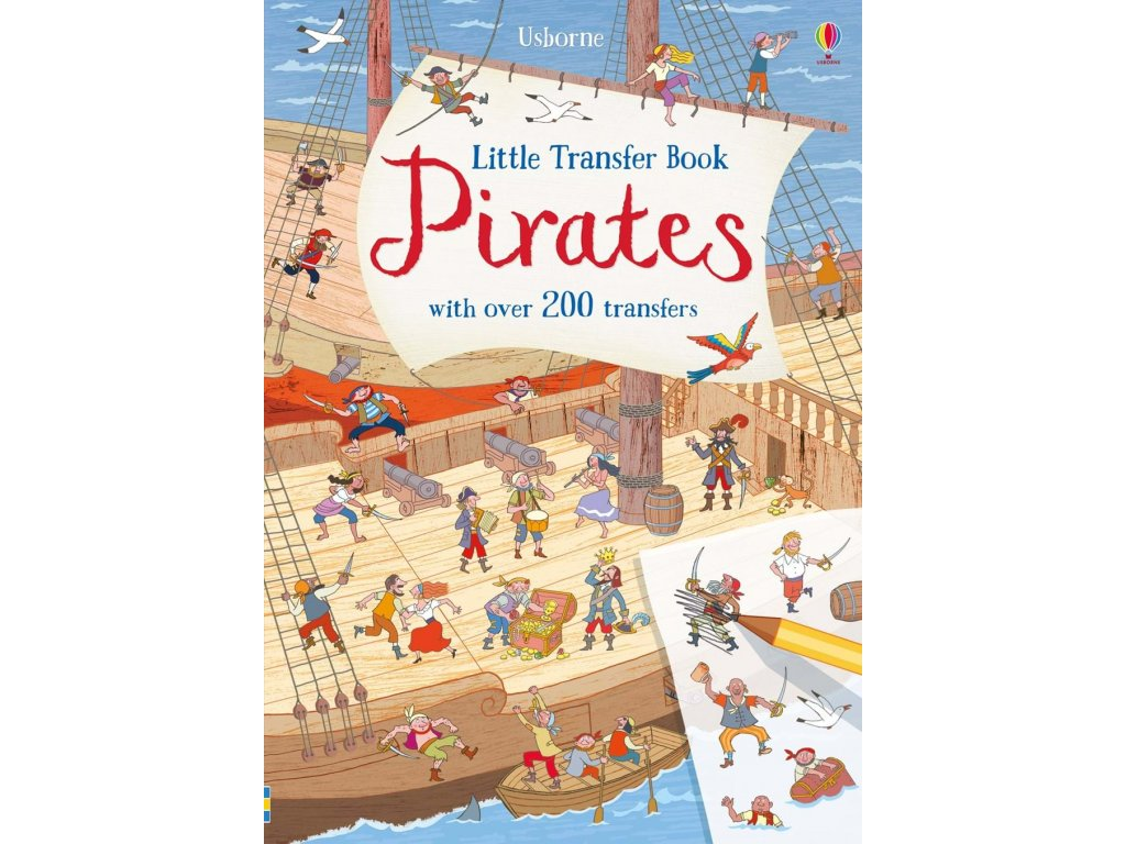 Little transfer book pirates