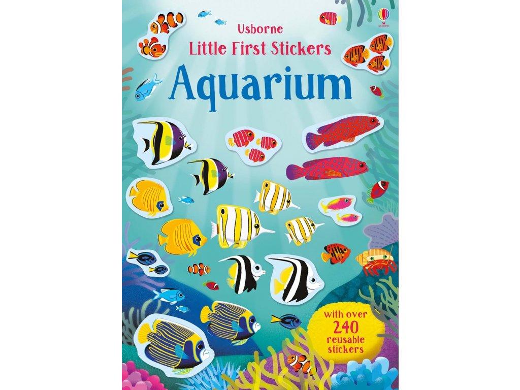 Little first stickers aquarium