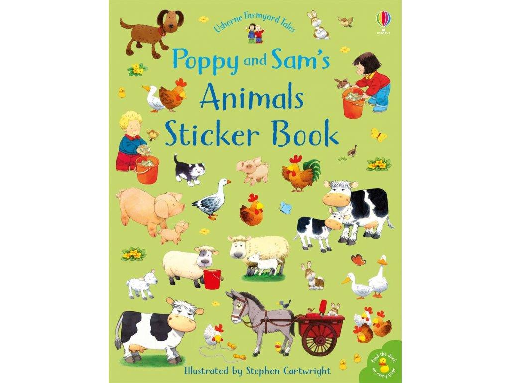 Poppy and Sam's animals sticker book