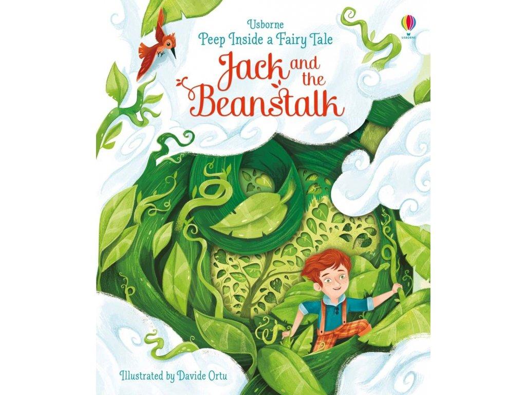 Peep inside a fairy tale Jack and the Beanstalk