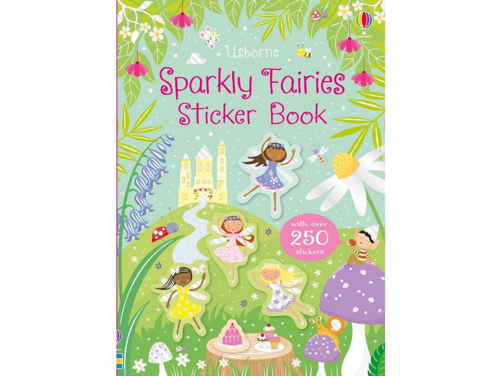 Sparkly Fairies Sticker Book 1