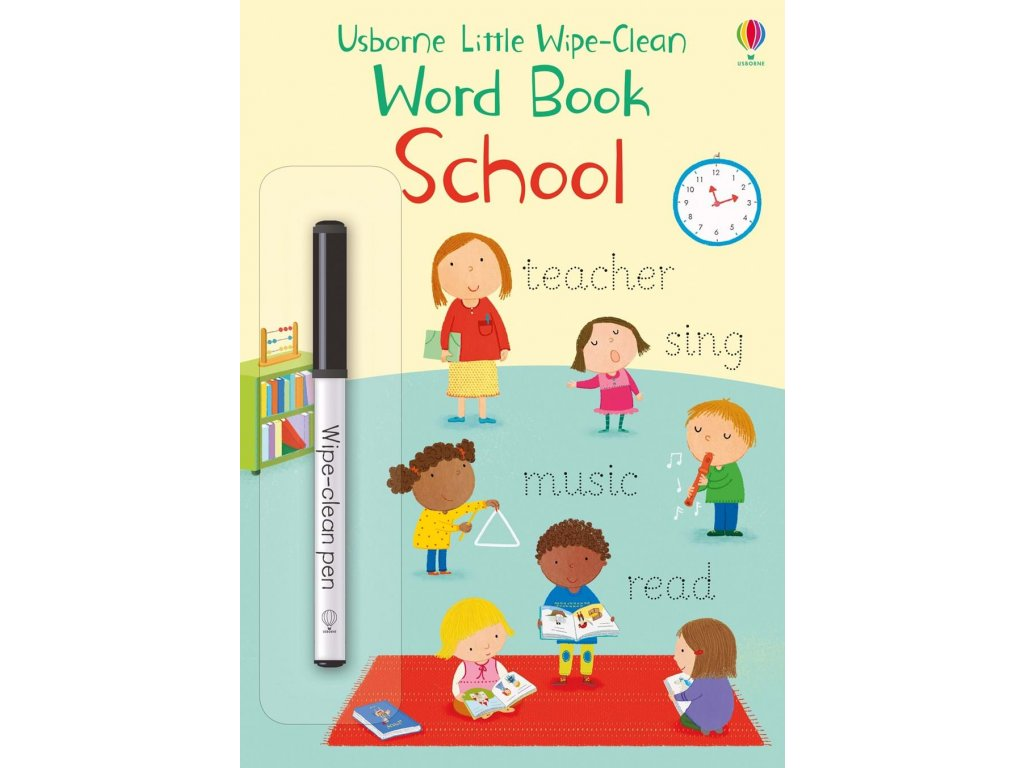 Little wipe clean word books