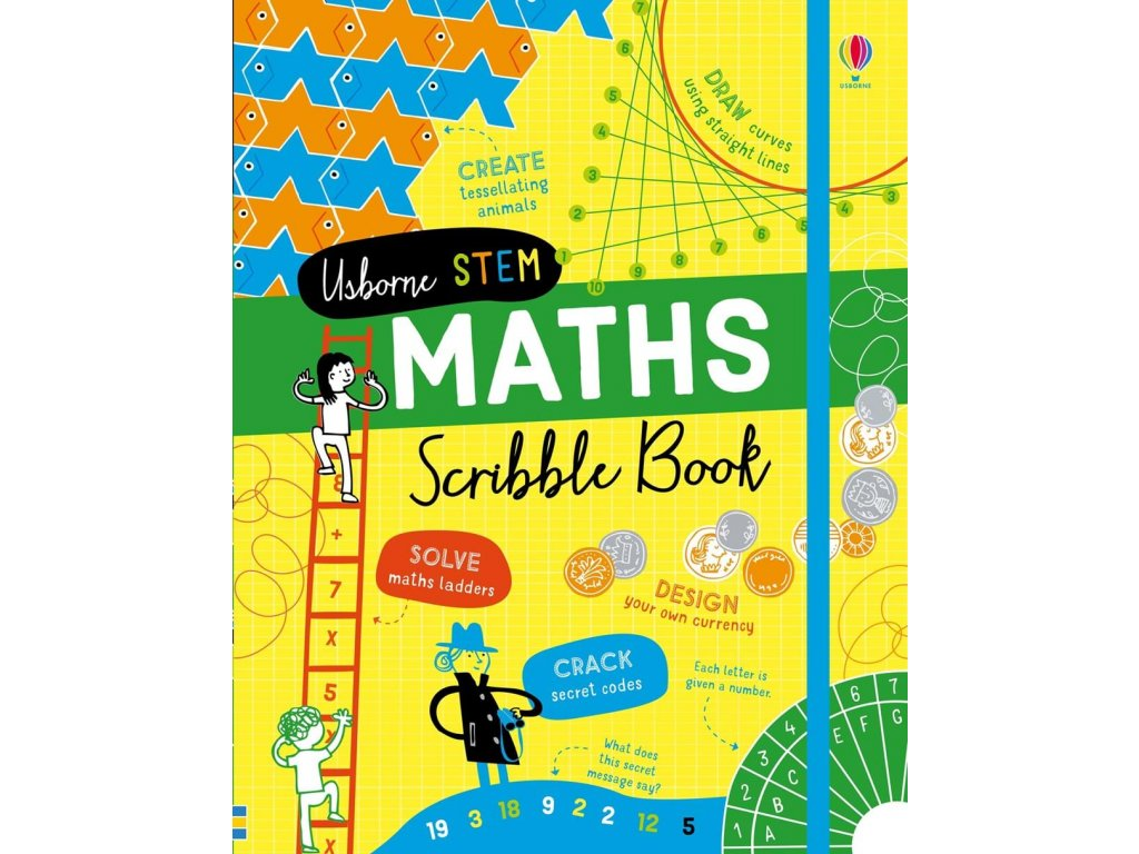Maths scribble book