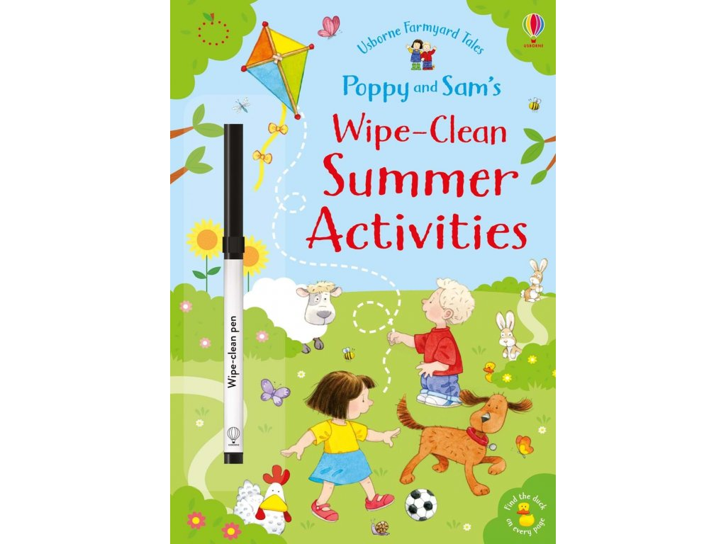Poppy and Sam's wipe clean summer activities