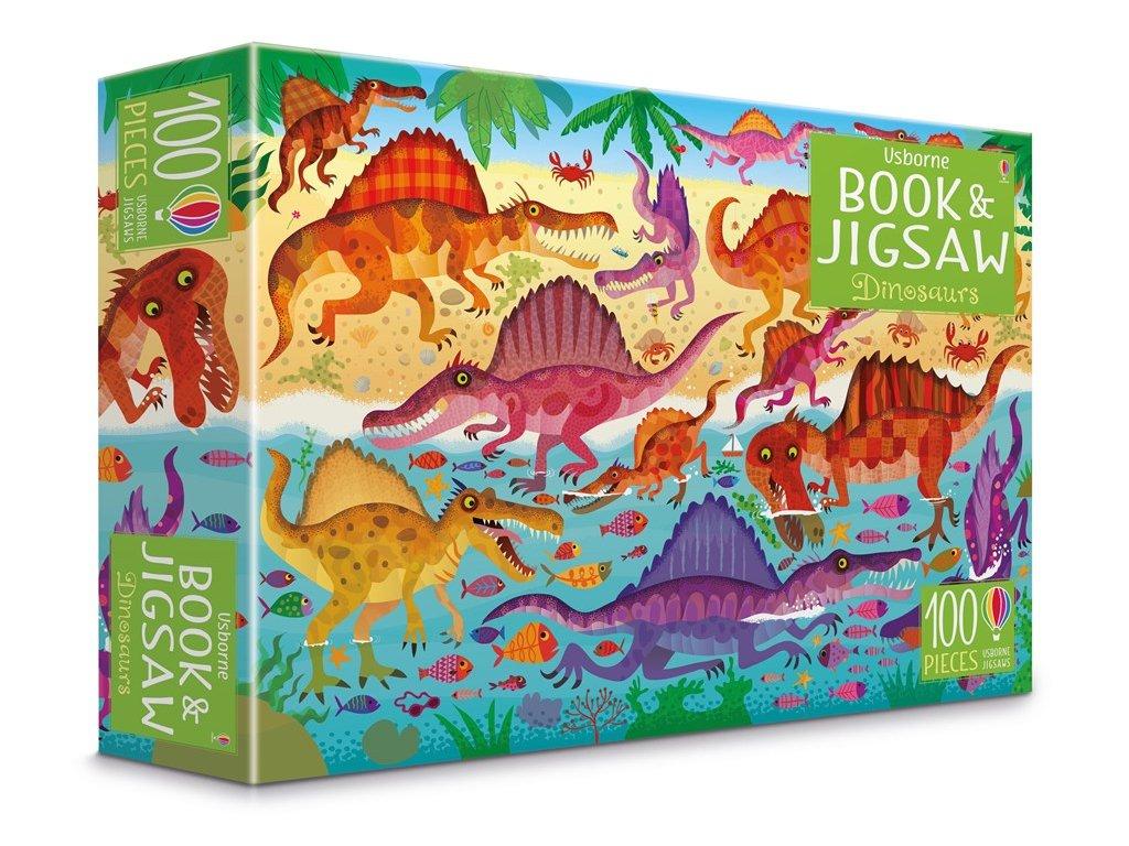 Book&Jigsaw Dinosaurs